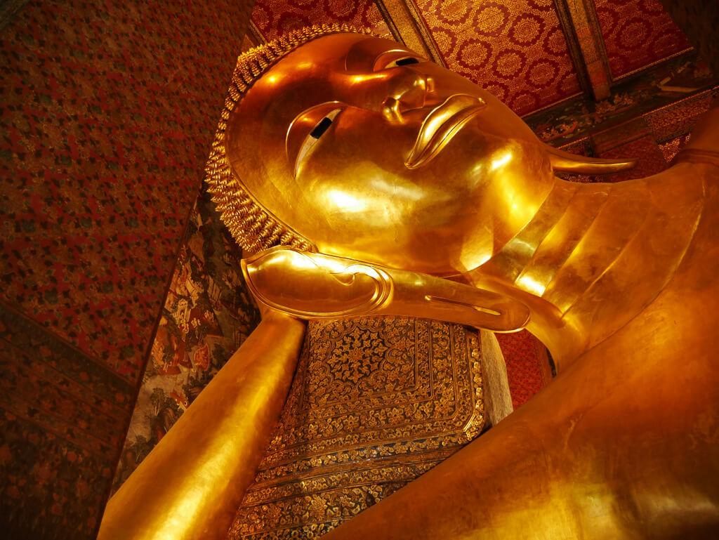 Bangkok liegender Buddha Wat Pho