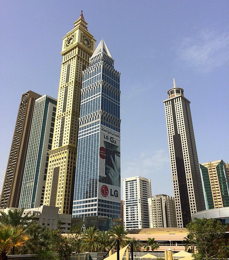 Meine Reise nach Dubai und in den Oman. staedtereisen sonne orient oman dubai  tui berlin Downtown Dubai