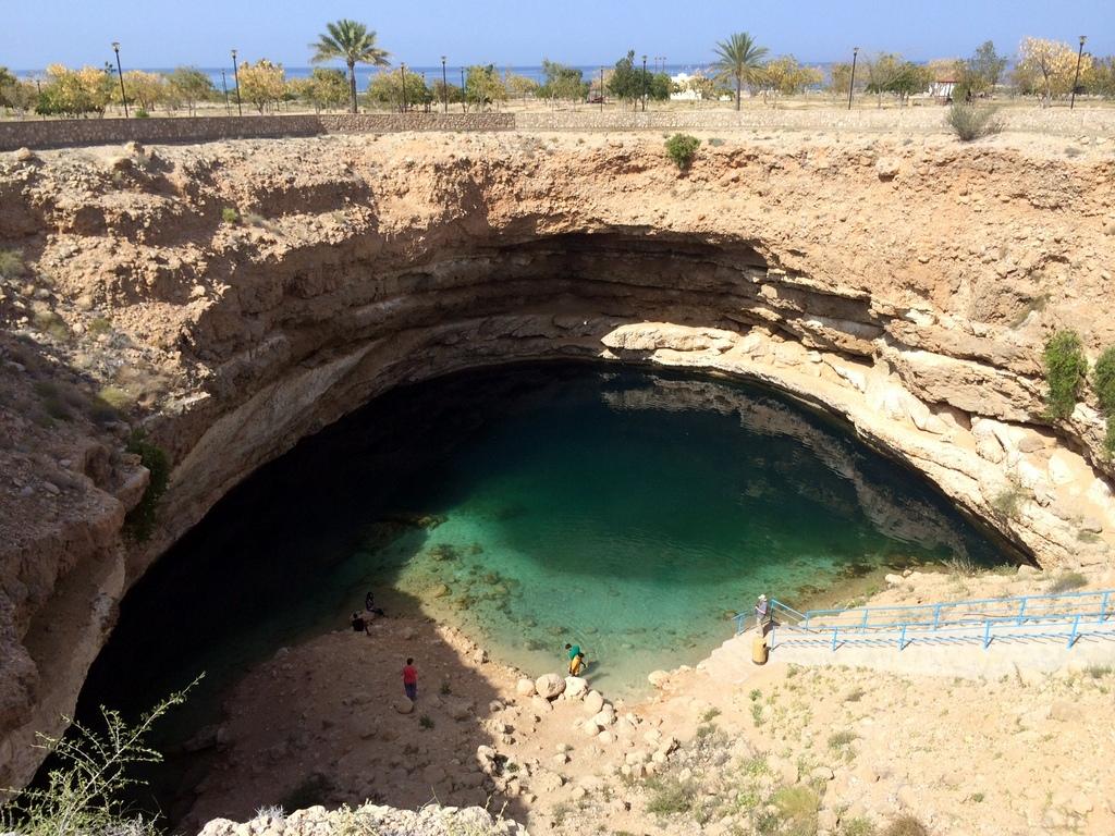Meine Reise nach Dubai und in den Oman. staedtereisen sonne orient oman dubai  tui berlin Oman Muscat Sink Hole