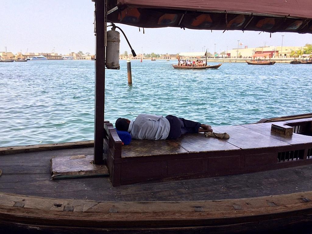 Meine Reise nach Dubai und in den Oman. staedtereisen sonne orient oman dubai  tui berlin schiffe dubai creek dhau