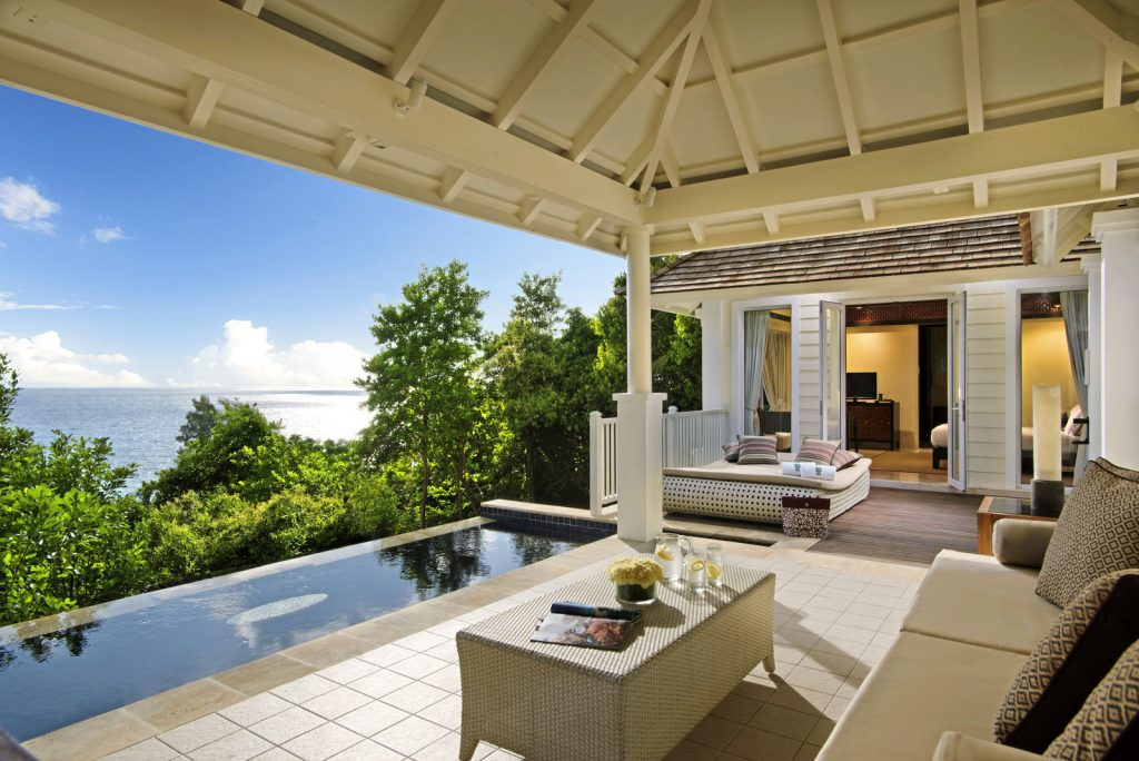 Seychellen: Abtauchen am Traumstrand   Banyan Tree Seychelles tui hotels strand sonne seychellen indischer ozean orient honeymoon 2 angebote und specials angebot airtours hotels  tui berlin banyan tree seychelles ocean view pool villa 1024x684