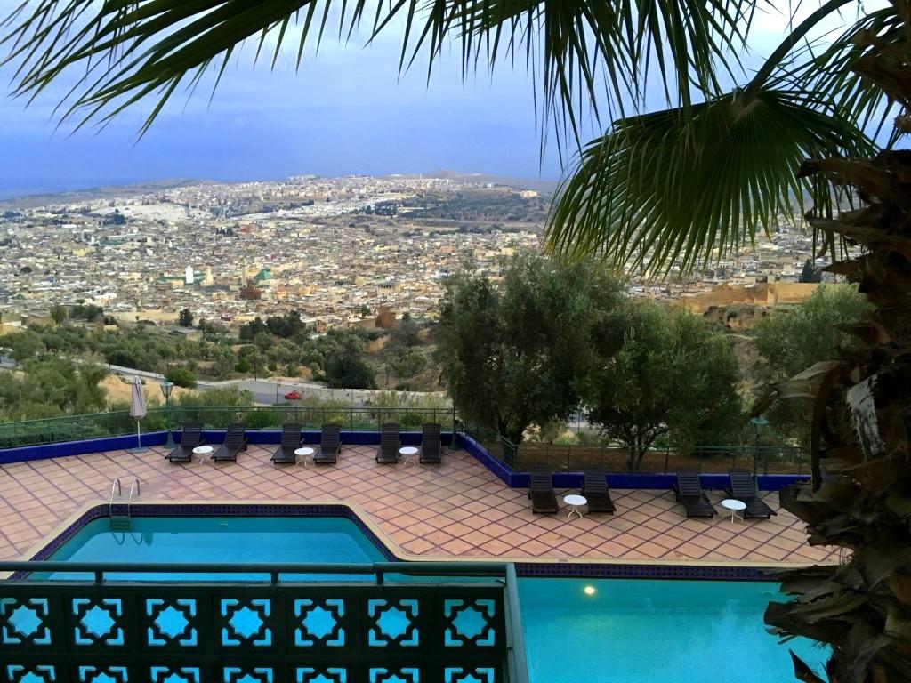 Marokkos Königsstädte   Eine Gebeco Erlebnisrundreise staedtereisen sonne land und leute marokko afrika  tui berlin marokko fes le meridien panorama 1