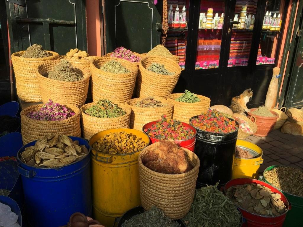 Marokkos Königsstädte   Eine Gebeco Erlebnisrundreise staedtereisen sonne land und leute marokko afrika  tui berlin marokko marrakesch medina stand