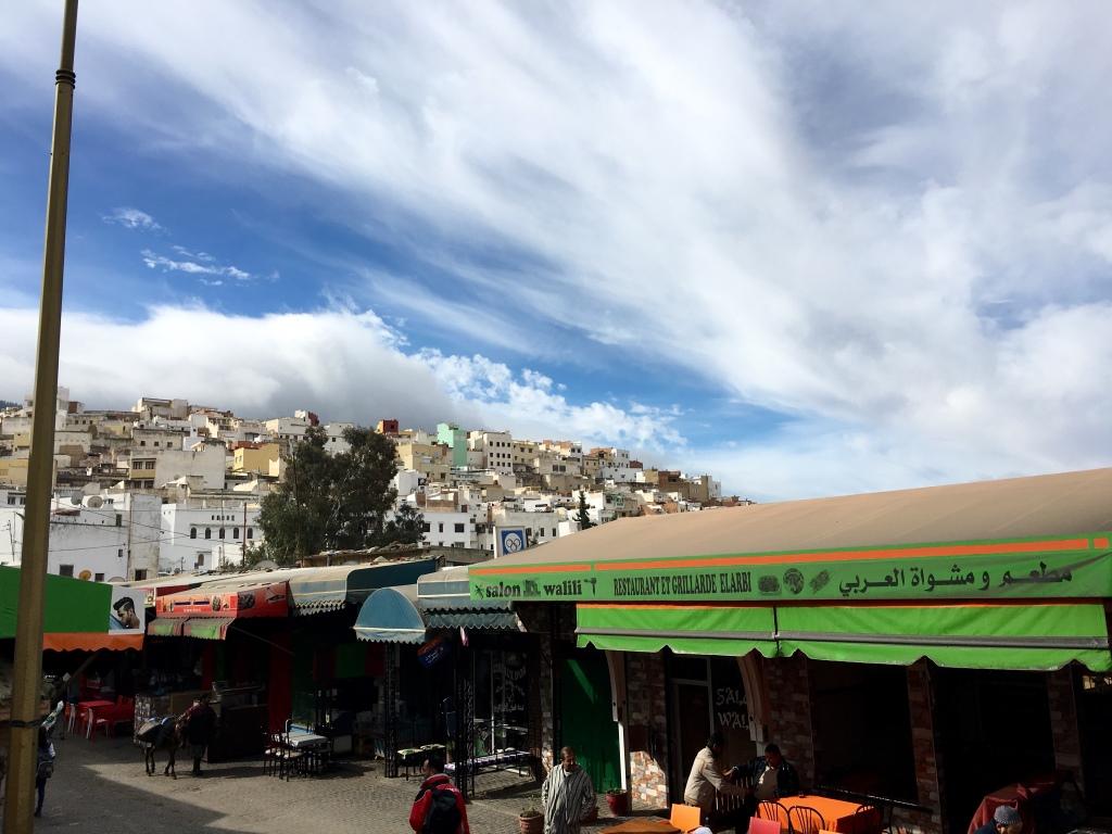 Marokkos Königsstädte   Eine Gebeco Erlebnisrundreise staedtereisen sonne land und leute marokko afrika  tui berlin marokko moulay idriss aussicht