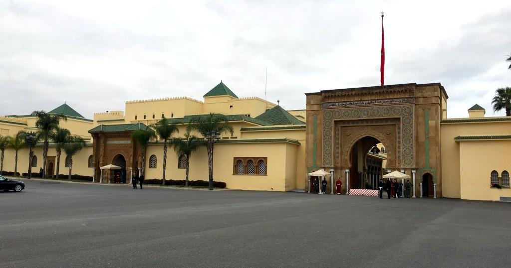 Marokkos Königsstädte   Eine Gebeco Erlebnisrundreise staedtereisen sonne land und leute marokko afrika  tui berlin marokko rabat koenigspalast 1