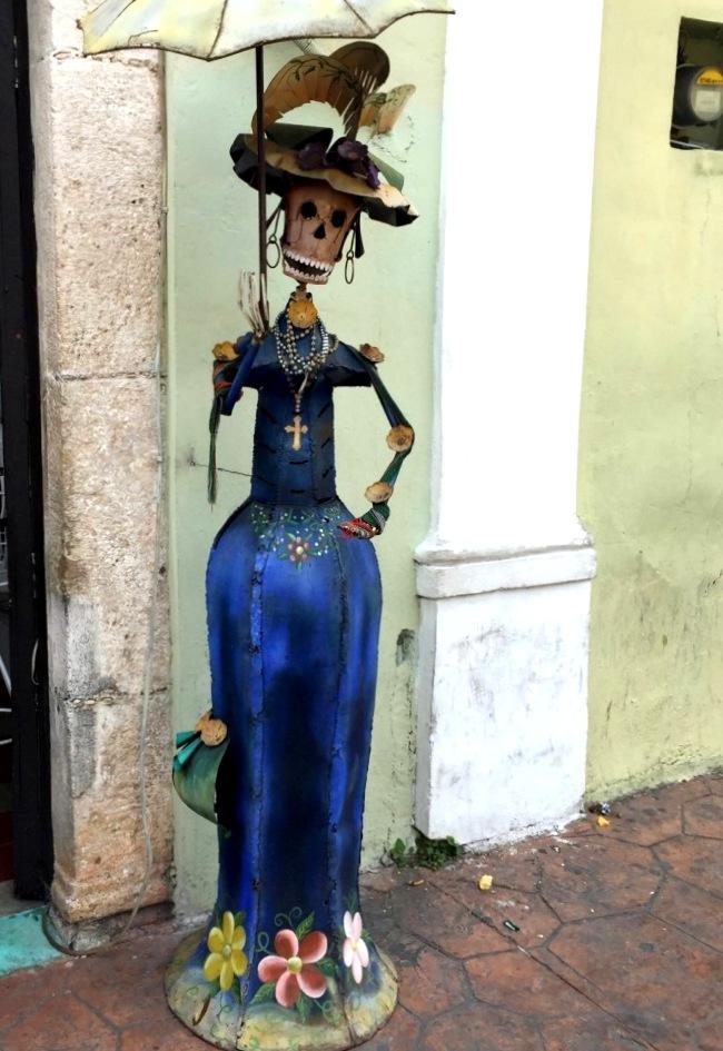 Mexiko   Entspannung und Kultur an der Riviera Maya strand sonne land und leute reisebericht mexiko  TUI Berlin Mexico Yucatan Valladolid Shopping