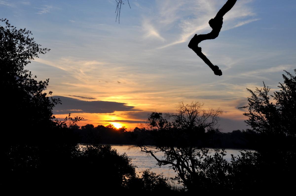 Botswana Safari und Victoriafälle: Unsere Afrika Rundreise sonne land und leute reisebericht botswana afrika  TUI Berlin Safari Sambesifluss