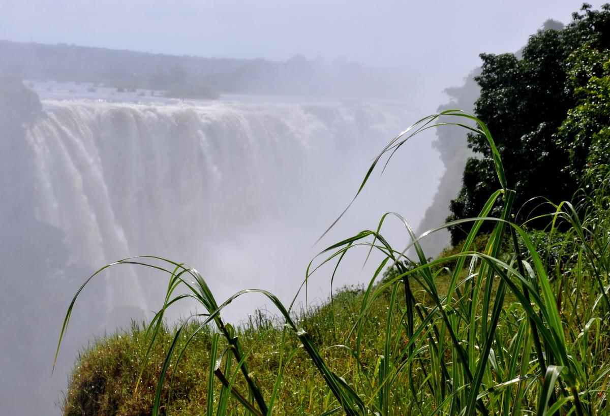 Botswana Safari und Victoriafälle: Unsere Afrika Rundreise sonne land und leute reisebericht botswana afrika  TUI Berlin Victoriafälle Ausflug