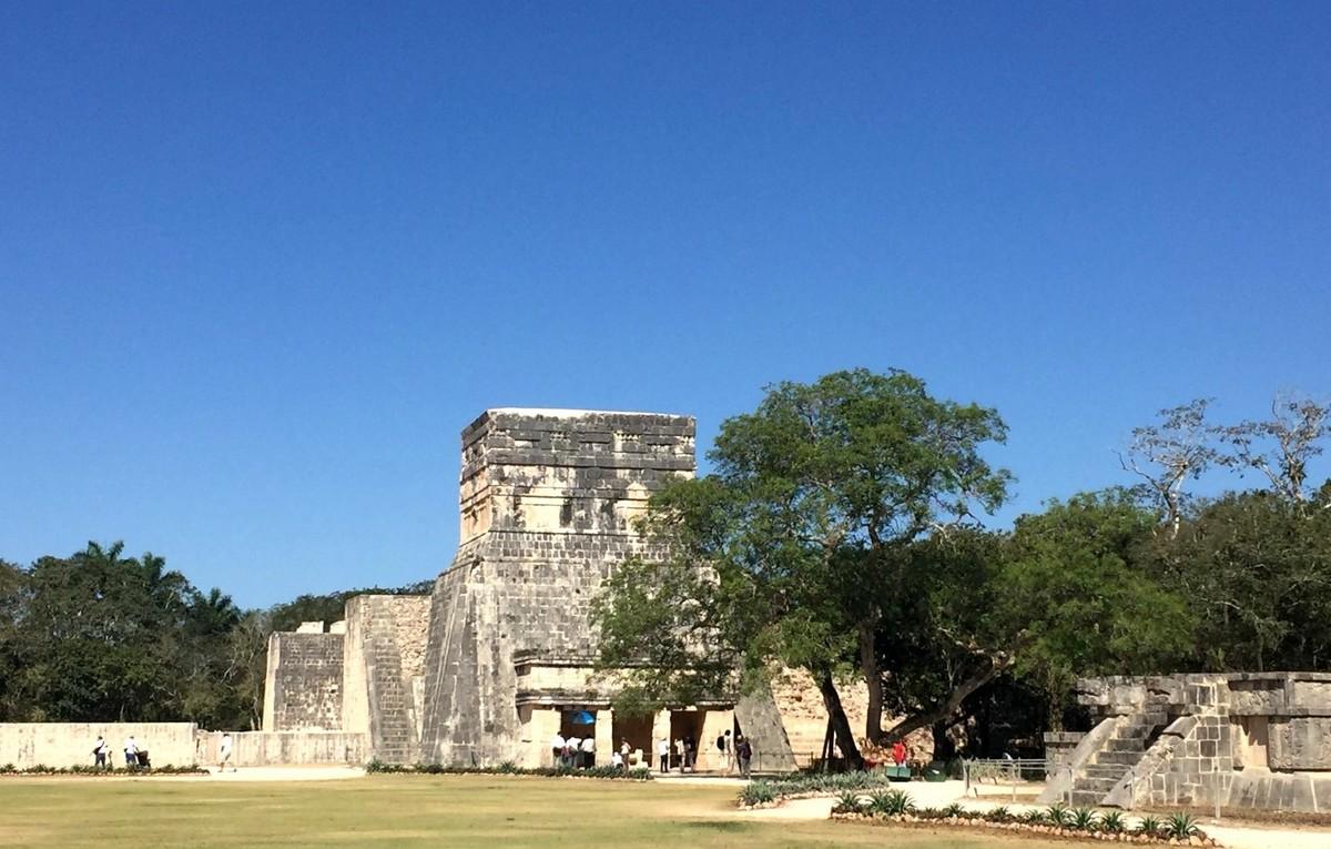 Mexiko   Entspannung und Kultur an der Riviera Maya strand sonne land und leute reisebericht mexiko  TUI Berlin Yucatanrundreise Chitchen Itza 2