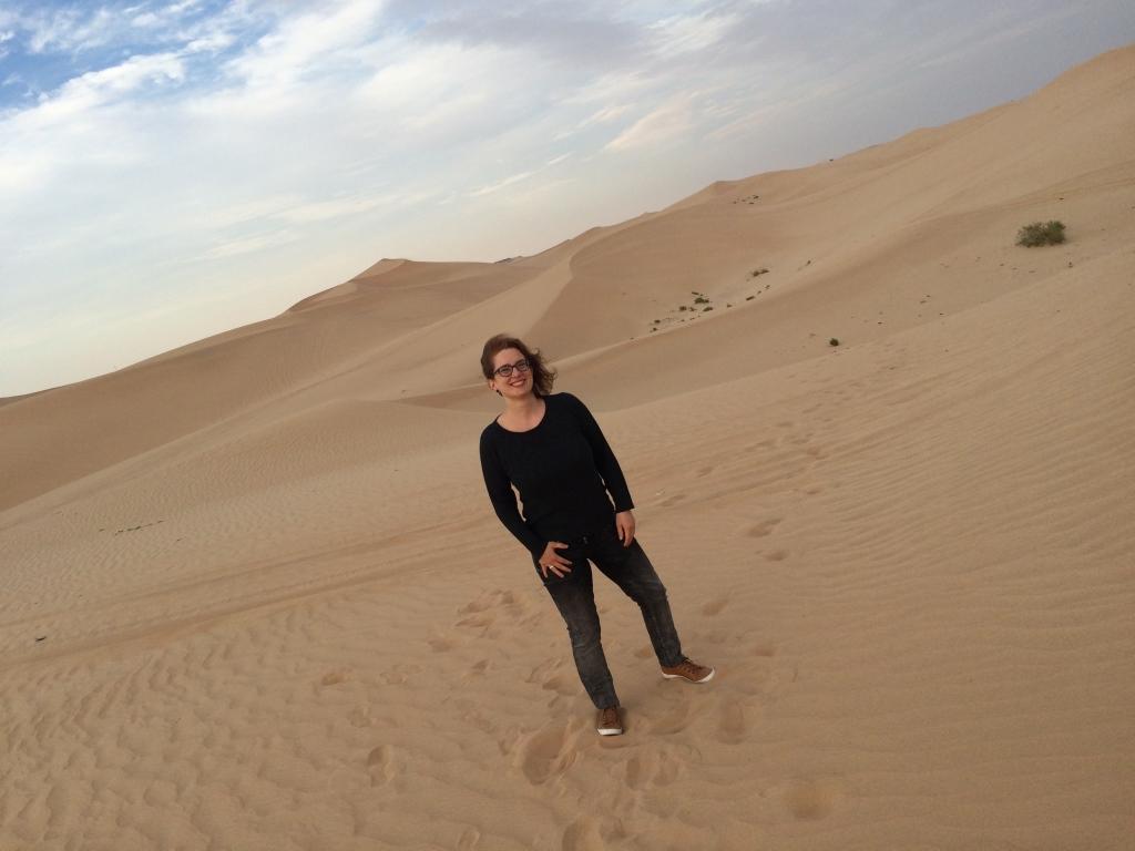 Einzigartige Wüstenerlebnisse strand staedtereisen sonne land und leute reisebericht abu dhabi  tui berlin wüste abu dhabi dünen sibylle georgi