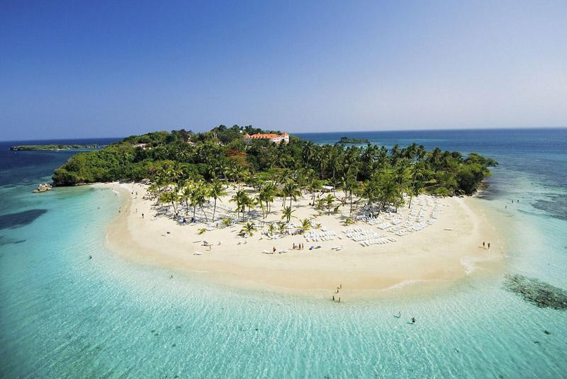 Karibik kann auch Safari   Samana Flugsafari tui hotels strand sonne expertentipps dominikanische republik  tui berlin Reisebuero Cayo Levantado
