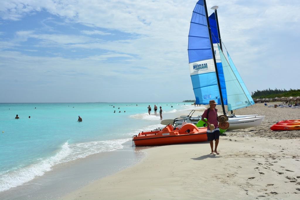 Urlaub auf Kuba nach der Öffnung strand sonne land und leute reisebericht kuba  tui berlin kuba Varadero Strand