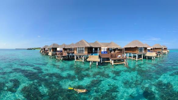 Coco Bodu Hithi   Malediven zauberhaft tui hotels sonne mauritius honeymoon 2 angebote und specials angebot  TUI Berlin Malediven Coco Boduhithi Residences snorkeling 1