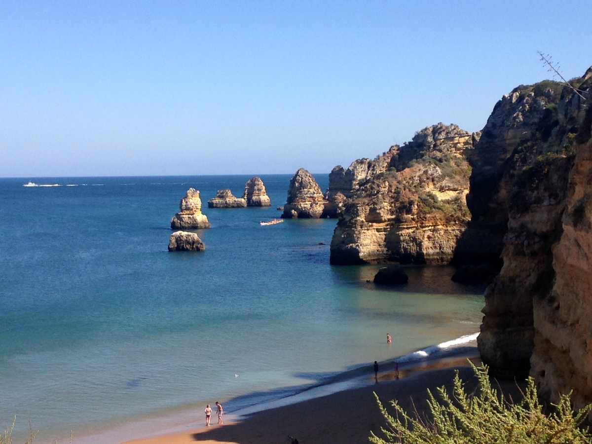 Die schönsten Hotels an der Algarve strand sonne portugal familie  tui berlin reisebüro Algarve Dona Ana Beach 2