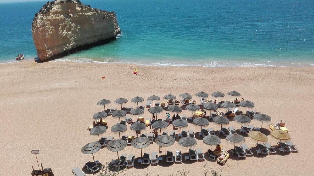 Strand beim Vilalara Resort
