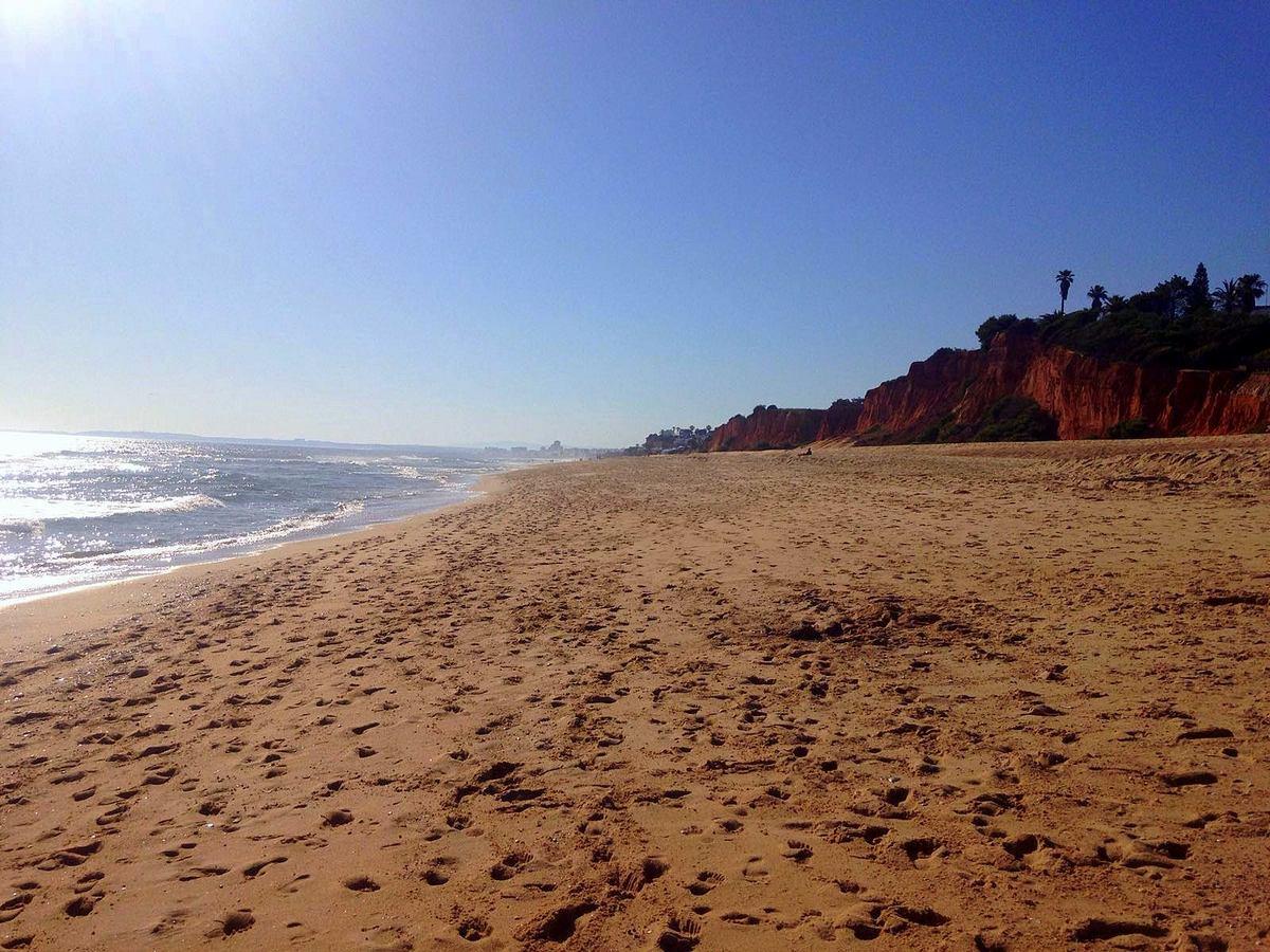 Strand in der Nähe des Conrad Algarve