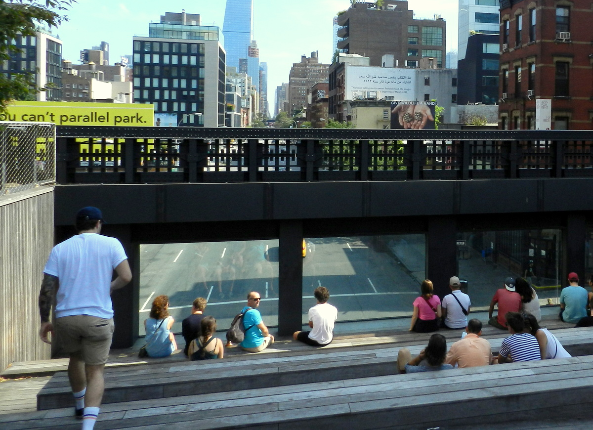 Mein entspannter Sommerurlaub in New York City usa staedtereisen sonne  TUI Berlin Reisebuero Highline Park New York