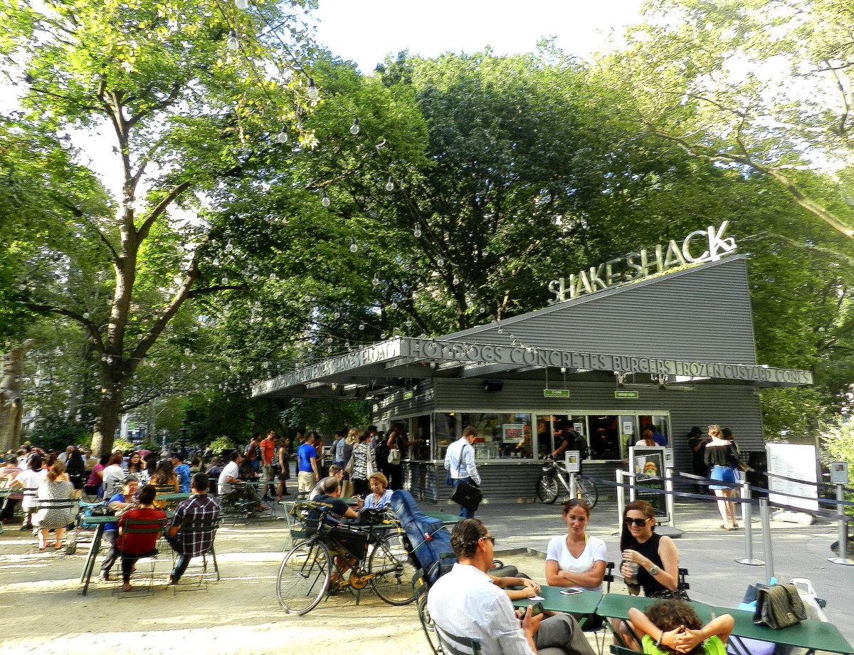 Mein entspannter Sommerurlaub in New York City usa staedtereisen sonne  TUI Berlin Reisebuero New York Shake Shack