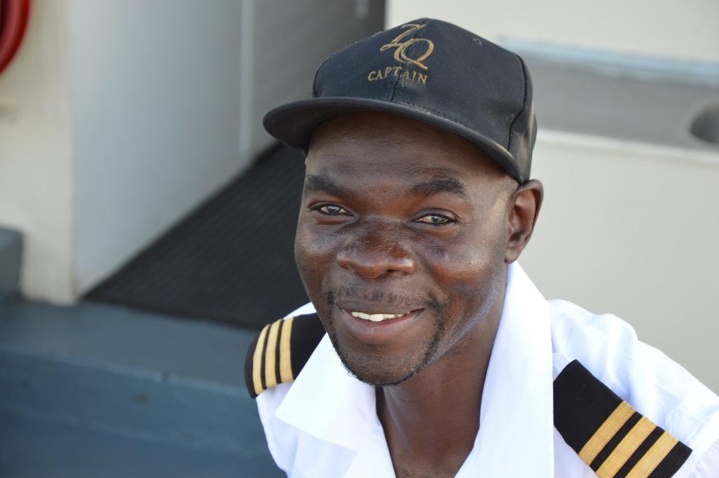 Auf dem Zambezi zwischen Namibia und Botswana reisebericht new namibia botswana afrika  tui berlin chobe princess sambesi queen captain