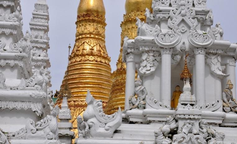 Wandern in Myanmar   Eine Gebeco Aktivreise zu den goldenen Buddhas sonne myanmar expertentipps  tui berlin Myanmar Shwedagon Pagode tempel