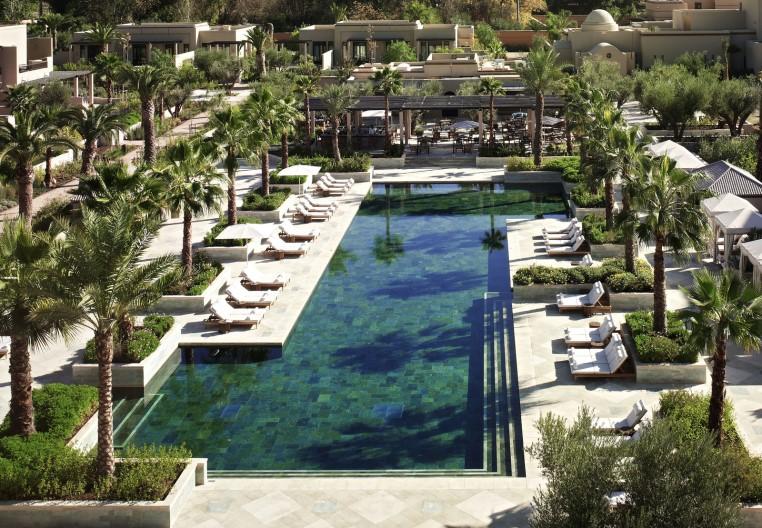 Top 4 Hoteltipps für Marrakesch tui hotels staedtereisen sonne marokko expertentipps airtours hotels  tui berlin marrakesch four seasons poollandchaft