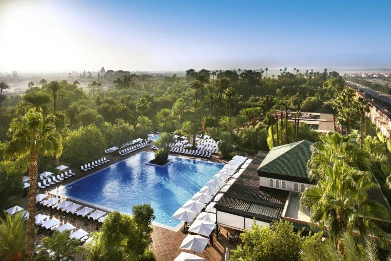 Top 4 Hoteltipps für Marrakesch tui hotels staedtereisen sonne marokko expertentipps airtours hotels  tui berlin marrakesch la mamounia outdoor pool