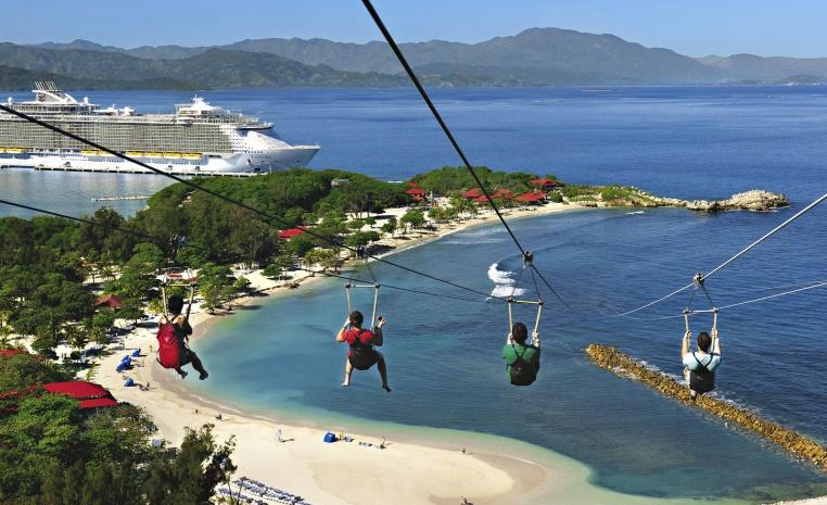 Unsere Top 5 Reisetrends 2017 news tui hotels strand sonne angesagte reiseziele angebote und specials angebot  tui berlin royal caribbean ziplining