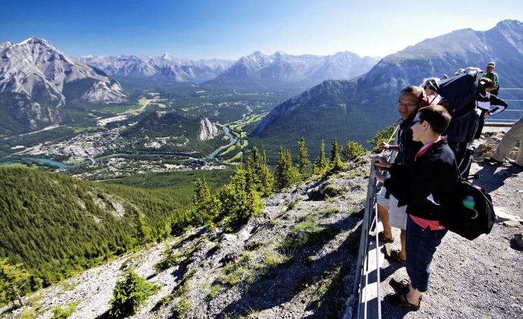 150 Jahre Kanada   Mit TUI Camper mehr erleben news kanada angebote und specials  tui berlin sulphur mountain