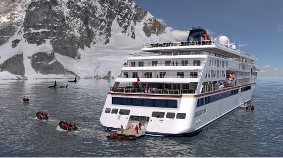 Schiffsnamen enthüllt   die beiden neuen Expeditionsschiffe von Hapag Lloyd sonne land und leute news kreuzfahrt angebot airtours kreuzfahrten  tui berlin hapag lloyd neue schiffe