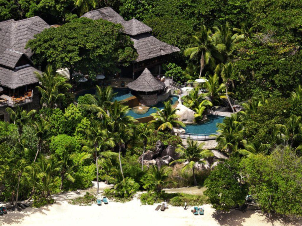 Seychellen, ein Himmel auf Erden   Constance Hotels & Resorts strand sonne seychellen new honeymoon 2  tui berlin praslin lemuria resort eingang