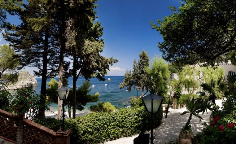 TUI, Reisebüro, World of TUI, Italien, Belmond Villa Sant'Andrea, Luxusresidenz, Privatresidenz, Luxushotel, Privatstrand, Sizilien
