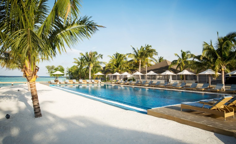 ROBINSON Clubs auf den Malediven tui hotels sonne malediven cluburlaub angebote und specials angebot  tui berlin robinson noonu infinitypool