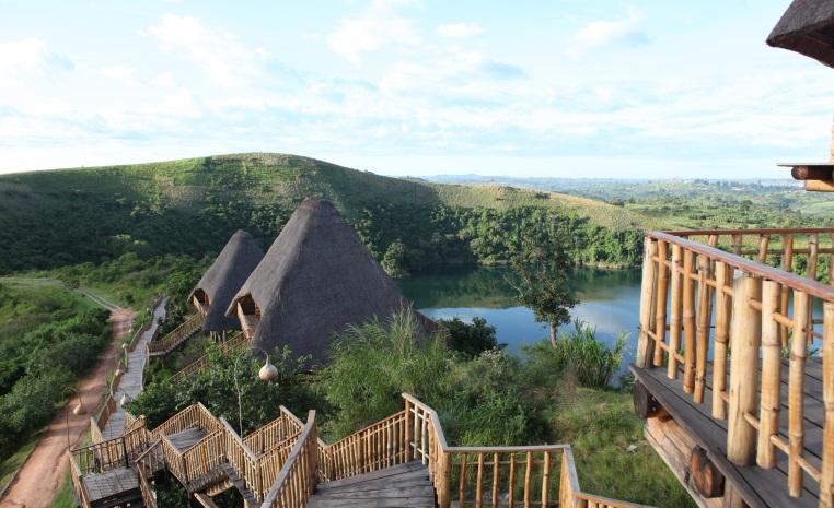 World of TUI Sonderreise: Auf den Spuren von Berggorillas und Schimpansen durch Uganda uganda safari expertentipps angesagte reiseziele afrika  Kyaninga Lodge 2