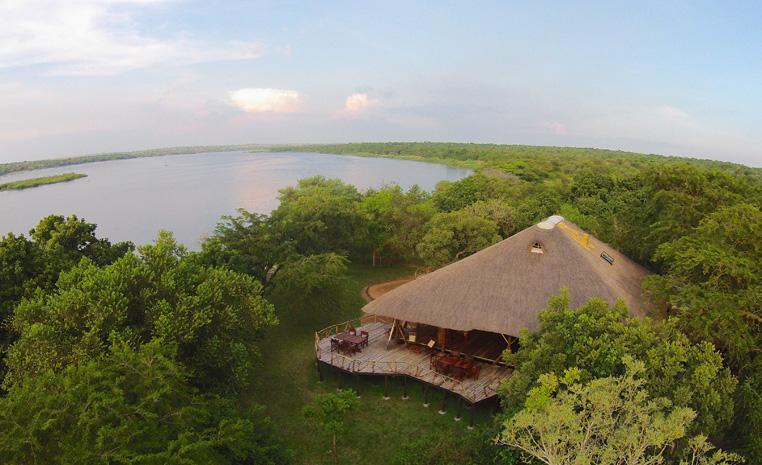 Uganda – auf den Spuren der Schimpansen und Berggorillas uganda sonne safari reisebericht new afrika  TUI Berlin Uganda Bakers Lodge