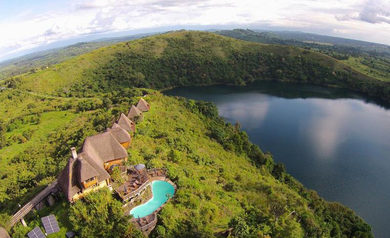 Uganda – auf den Spuren der Schimpansen und Berggorillas uganda sonne safari reisebericht new afrika  TUI Berlin Uganda Kyaninga Lodge a