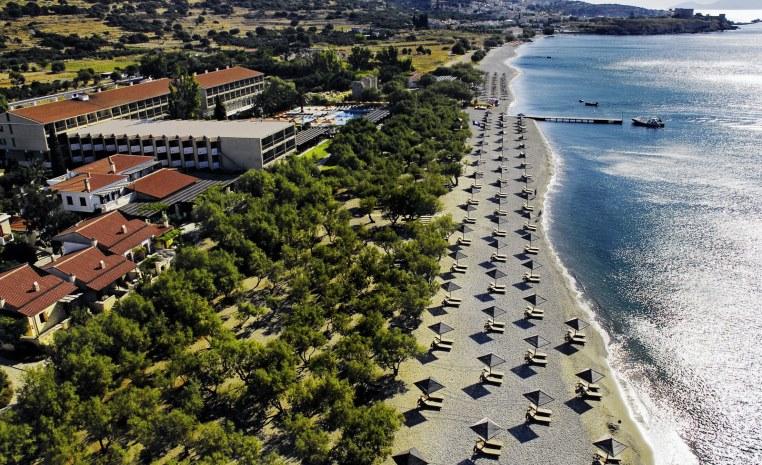 Blau Weiße Geheimtipps in Griechenland tui hotels strand sonne griechenland angebote und specials angebot  tui berlin tui family life doryssa seaside außenansicht