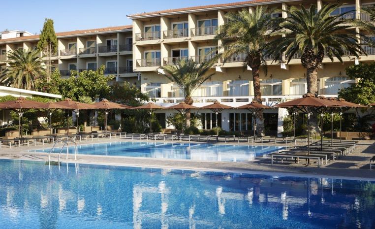 TUI Berlin, Sommer, Griechenland, Mittelmeer, Expertentipp, Luxushotel, Strandurlaub, TUI Family Life Doryssa Seaside Resort, Atrium, Skiathos Palace