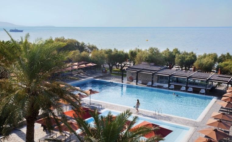 Blau Weiße Geheimtipps in Griechenland tui hotels strand sonne griechenland angebote und specials angebot  tui berlin tui family life doryssa seaside pool1