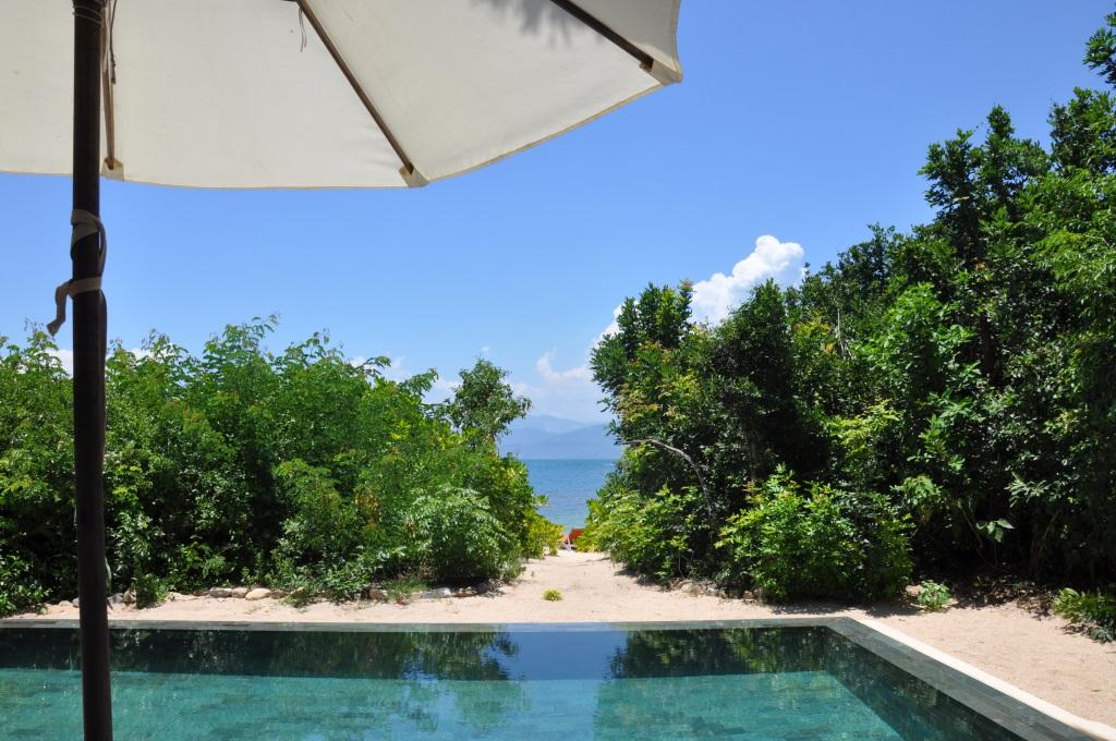 Six Senses Resort Ninh van Bay Beachfront Villa Ausblick, Vietnam - World of TUI Berlin Reisebericht