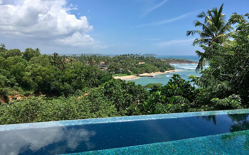 Unterwegs durch Sri Lanka   Luxuriös mit airtours strand sri lanka asien sri lanka sonne land und leute reisebericht new  TUI Reisebuero Berlin Sri Lanka Cape Weligama Pool Villa
