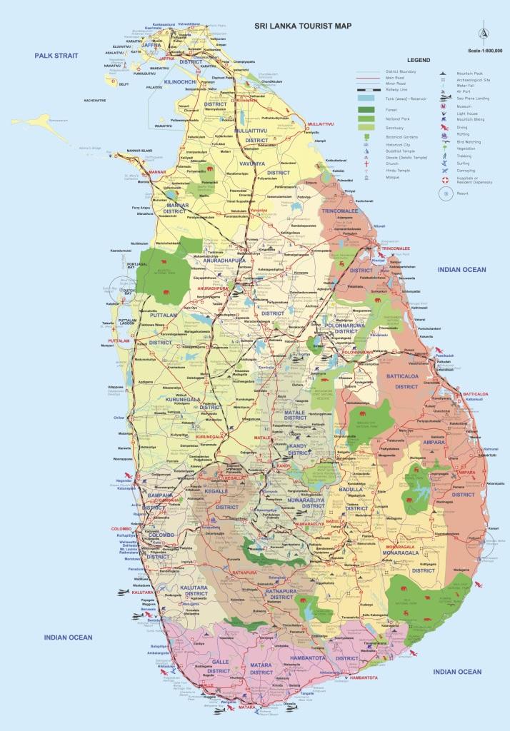 Unterwegs durch Sri Lanka   Luxuriös mit airtours strand sri lanka asien sri lanka sonne land und leute reisebericht new  TUI Reisebuero Berlin Sri Lanka Map 1