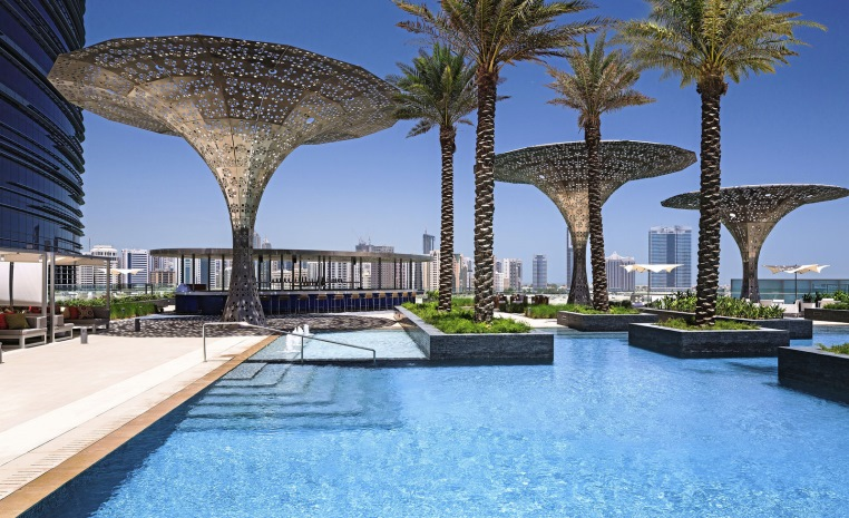 Just 4 You     Neuer Luxus in Dubai & Abu Dhabi vae tui hotels strand sonne dubai angebote und specials angebot abu dhabi  tui berlin rosewood abu dhabi swimming pool aussicht