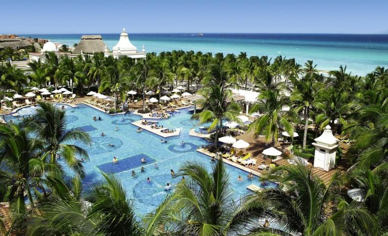 Nachhaltiger Urlaub? TUI Umweltchampions tui hotels strand sonne mexiko honeymoon 2 griechenland deutschland angebote und specials angebot  tui berlin riu palace riviera maya außenansicht