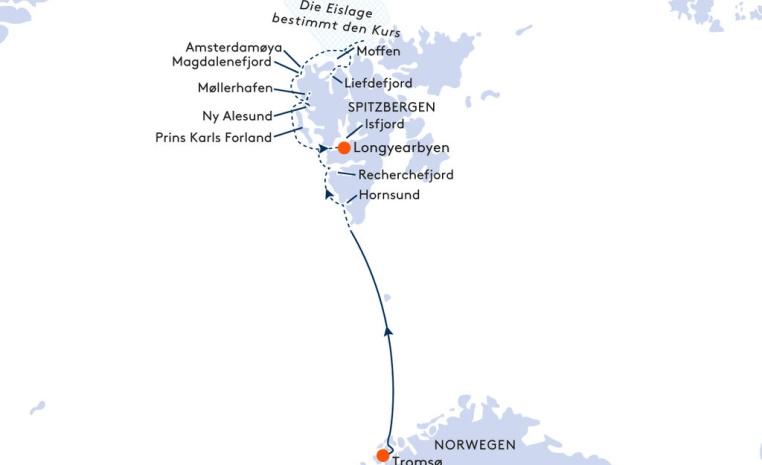 HANSEATIC und BREMEN   Expiditionsreisen mit Hapag Lloyd sonne kreuzfahrt expertentipps angebote und specials  tui berlin route hapag lloyd