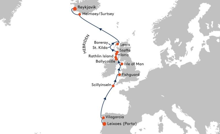 HANSEATIC und BREMEN   Expiditionsreisen mit Hapag Lloyd sonne kreuzfahrt expertentipps angebote und specials  tui berlin route karte