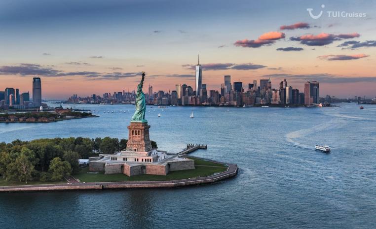 Der Big Apple mit einer Meeresbrise usa news tui cruises sonne land und leute kreuzfahrt angebot  tui berlin tuicruises new york freiheitsstatue