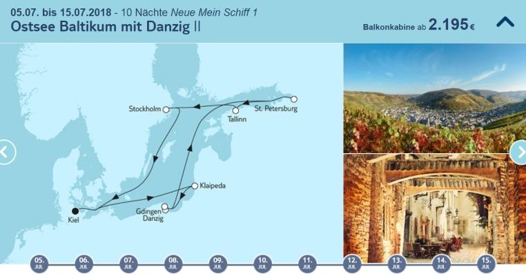 TUI Cruises Mein Schiff   Unsere neue Nummer 1 tui cruises sonne kreuzfahrt angebote und specials angebot  tui berlin tuicruises ostsee baltikum mit danzig