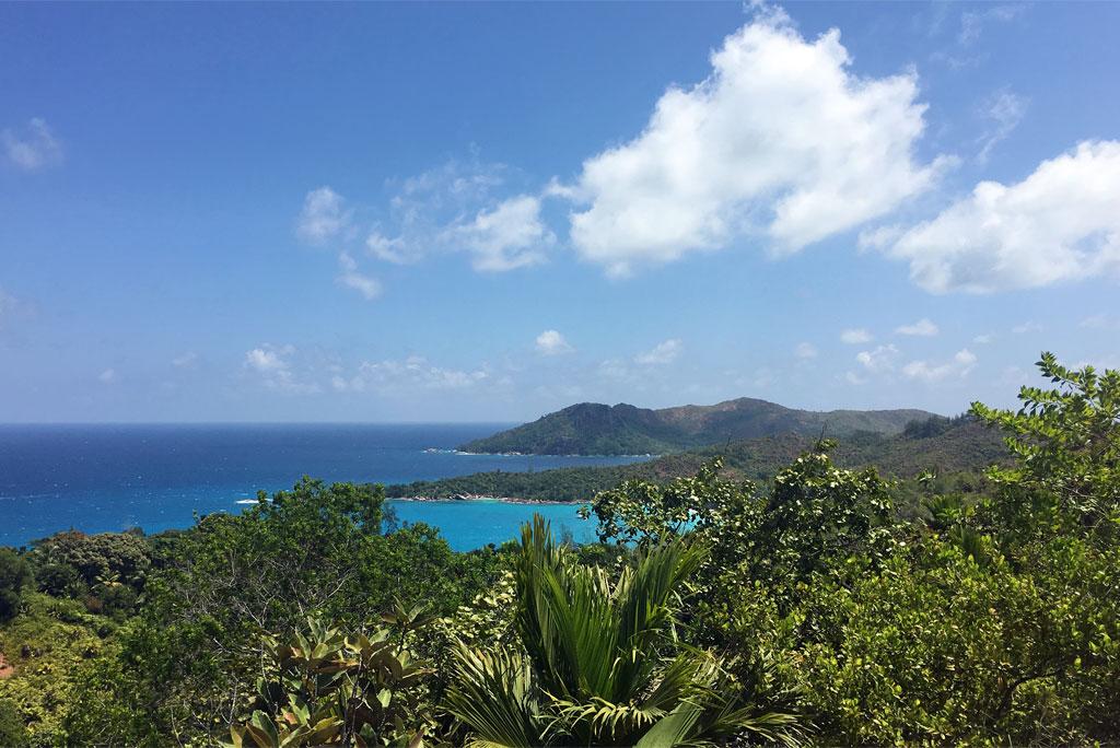 Seychellen   ein Himmel auf Erden strand sonne seychellen reisebericht new honeymoon 2  tui berlin seychelles praslin constance lemuria panorama