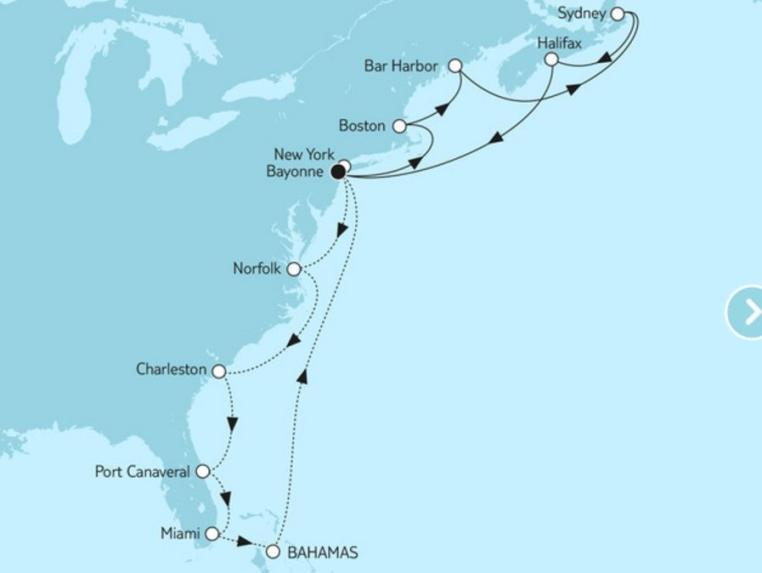 TUI Cruises Last Minute Special Nordamerika tui cruises sonne kreuzfahrt angebote und specials angebot  tui berlin tuicruises last minute special new york kanada1