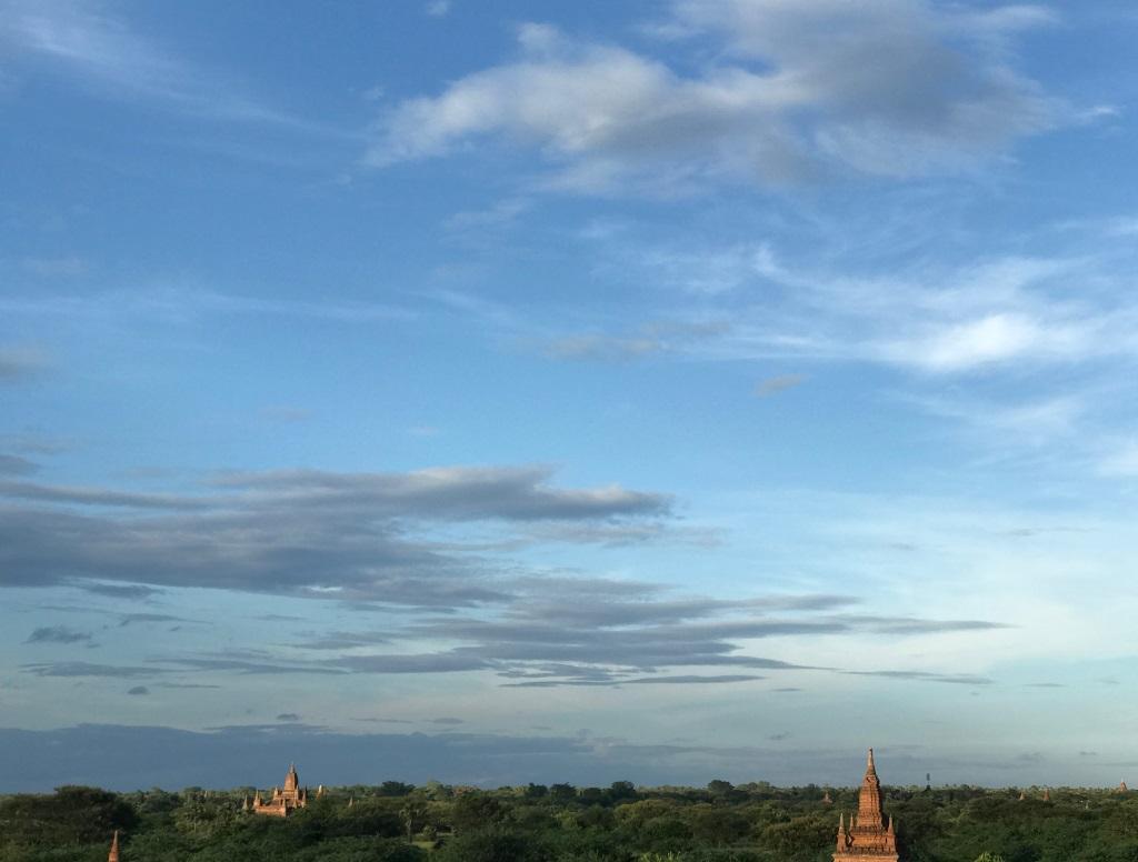 Myanmar   Meine Rundreise in sieben Tagen sonne land und leute reisebericht new myanmar  tui berlin myanmar bagan ausblick
